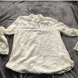 Beautiful Soft Lace Abercrombie & Fitch Top
